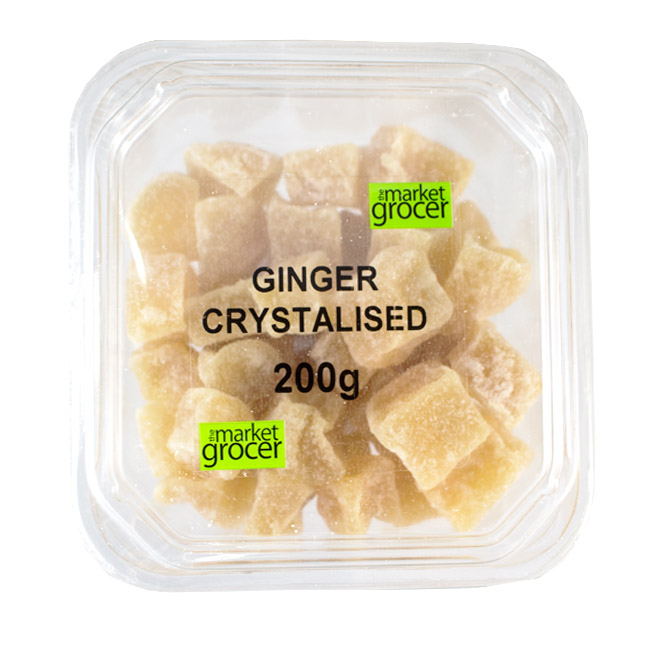 Tubs Ginger Crystalised 200g