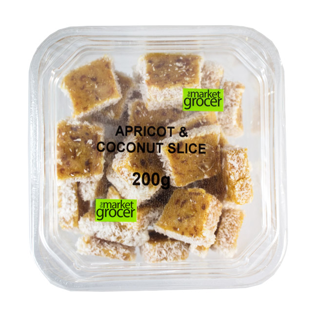 Tubs Apricot Coconut Slice 200g