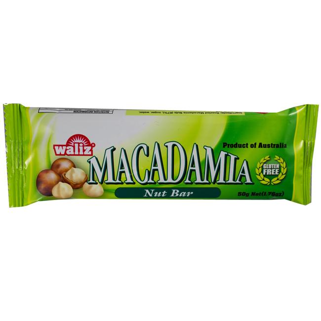 Waliz Macadamia NUT Bar
