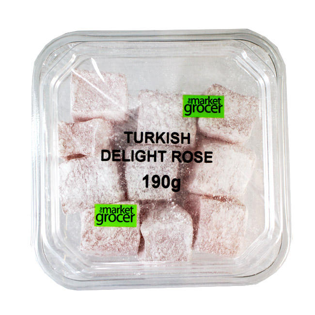 Tubs Turkish Delight Rose 190g
