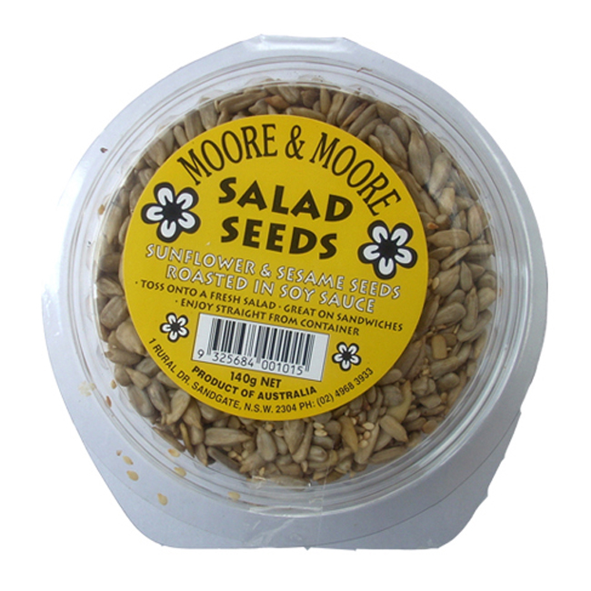 Moore Moore Salad Seeds Soy Sauce 140g