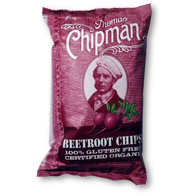 Chipman Beetroot Chips 75g