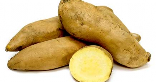 yellow sweet potato
