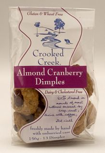 Almond Cranberry Dimples